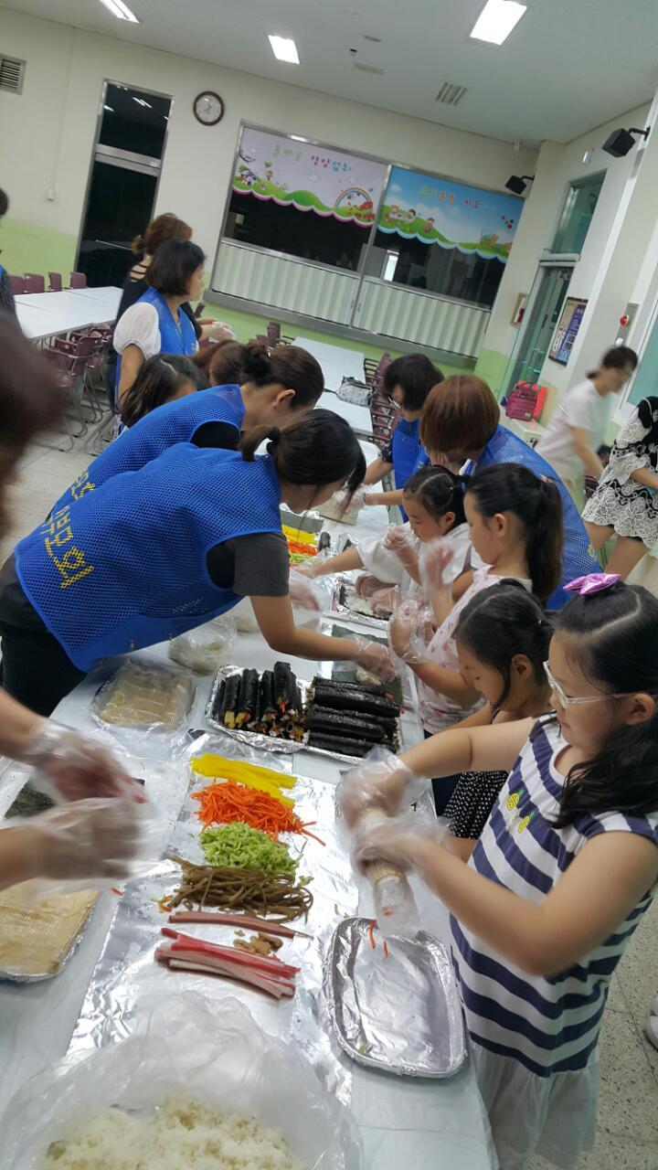 [일반] 여름방학 중 간식제공 자원봉사의 첨부이미지 1