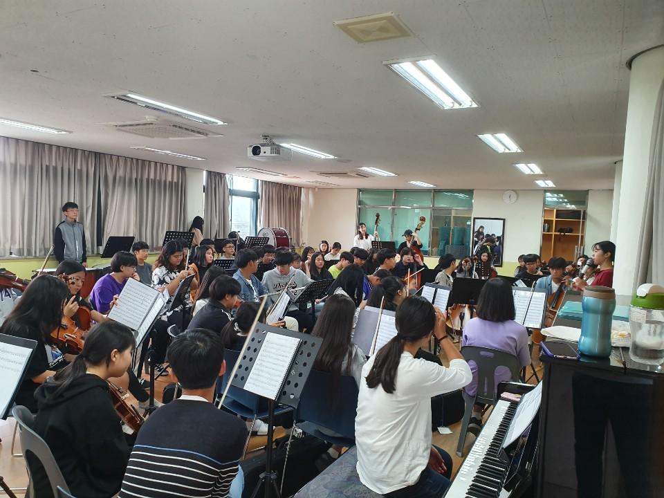[일반] 징검다리 거점학교 연계 드림하이 음악캠프의 첨부이미지 1