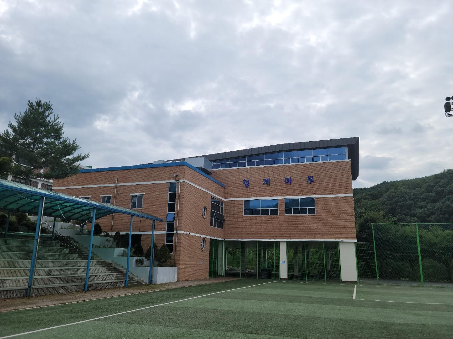 [일반] 일동중학교 체육관입니다.의 첨부이미지 1