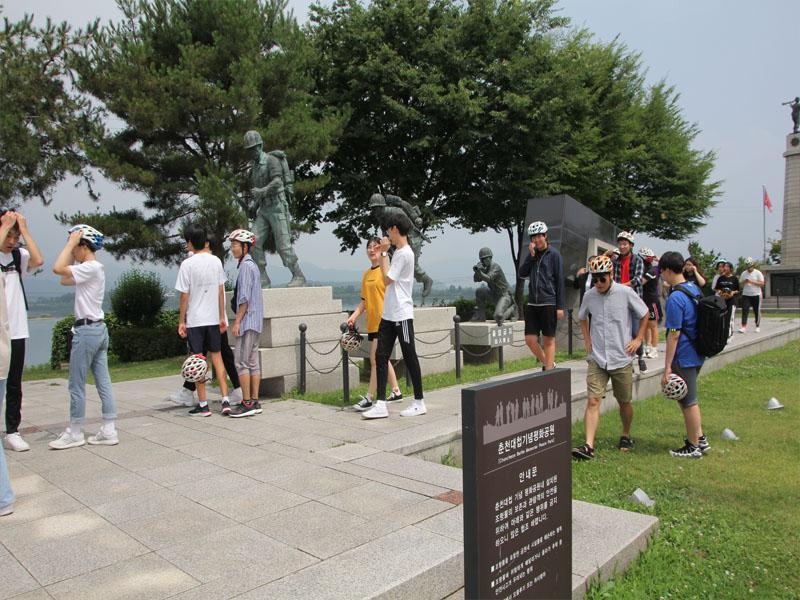 [일반] 2019.7.13 춘천 자전거 하이킹 및 김유정 문학기행의 첨부이미지 1