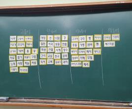 [일반] 2020 1학년 국어 언어개선 프로젝트 활동 사진의 첨부이미지 2