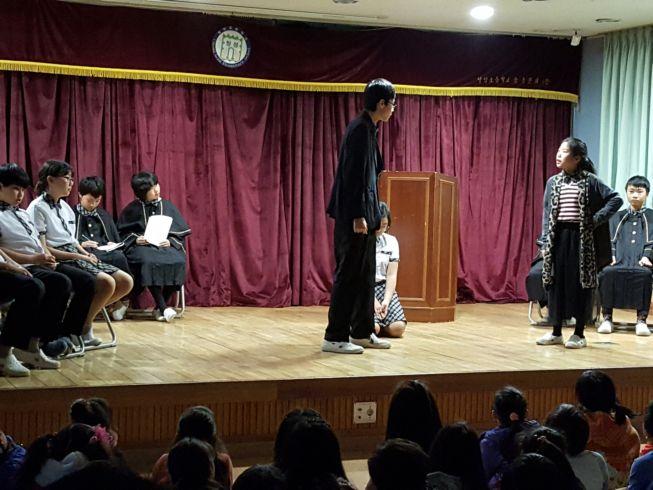 [일반] 6학년 연극 '왕따 재판'의 첨부이미지 1