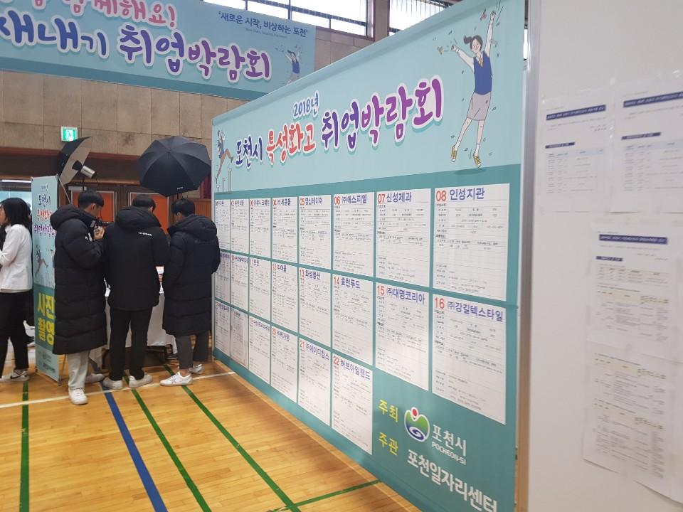 [일반] 2018 포천시 특성화고 취업 박람회의 첨부이미지 6