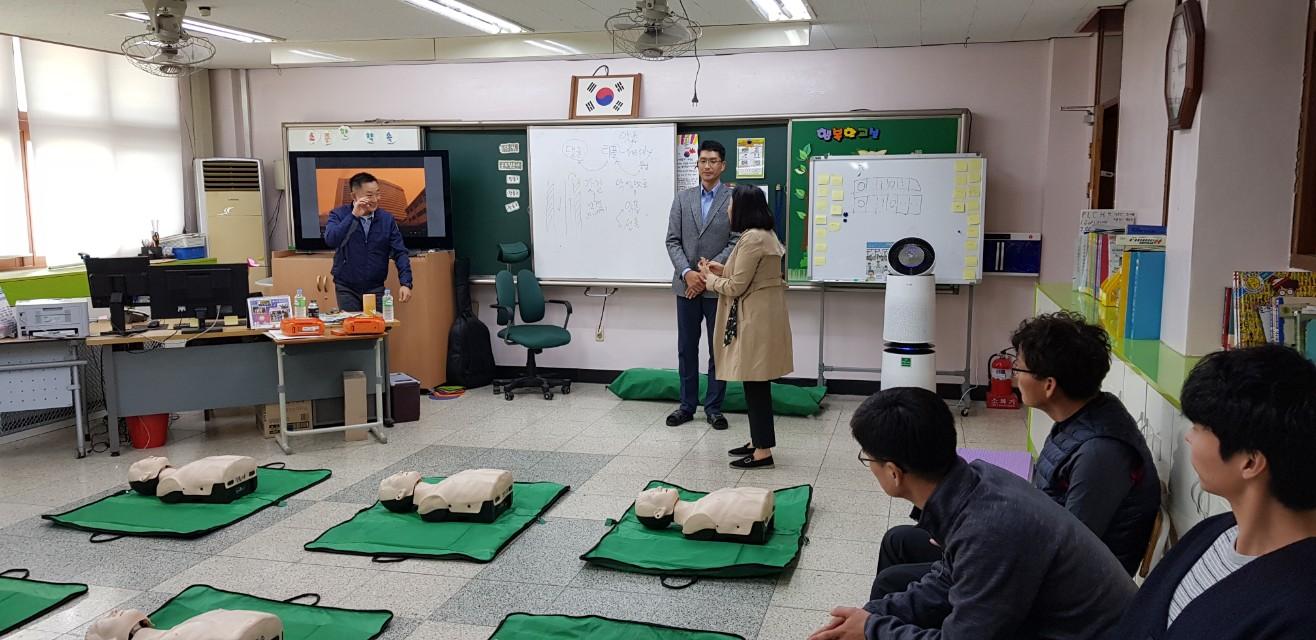 [일반] 2019 교직원 심폐소생술 교육(10.16)의 첨부이미지 2
